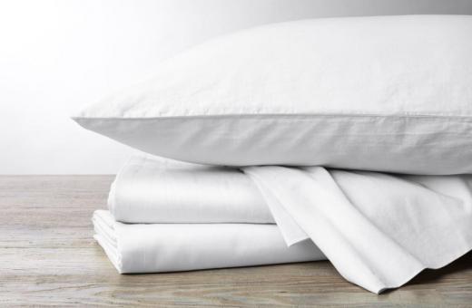 Долни чаршафи, пликове за завивки и калъфки за възглавници - памучен сатен 300 нишки