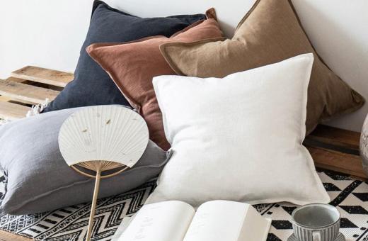 Аксесоари за всеки дом - декоративна калъфка лен и памук Rustic