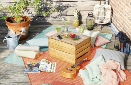 Незабравимо лято със стилни и практични одеяла за пикник от Biederlack, Германия