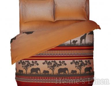 "Спален комплект 100% памук ""Африка"""