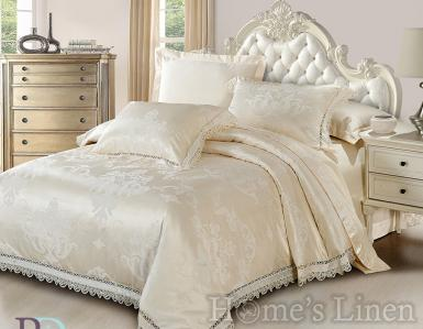 """Copy of Luxury Bed Linen Set Cotton Sateen with Lace """"Ahinora"""""""