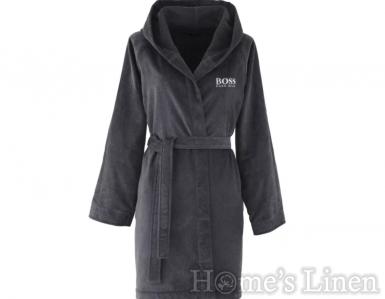 """Дамски халат за баня 100% египетски памук """"Plain Hooded"""", Hugo Boss"""