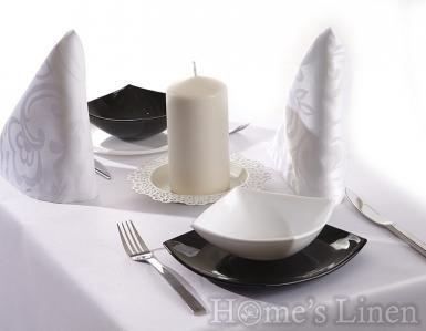 Луксозна покривка за маса от испански сатен дюс - 3 цвята