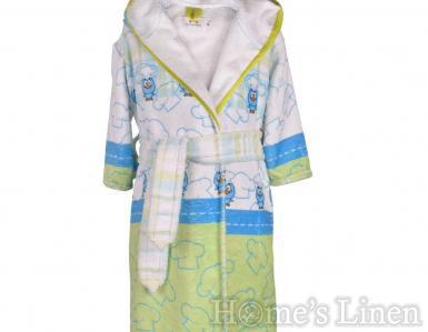 "Детски халат за баня DF печат ""Готвач"" размер S и М"