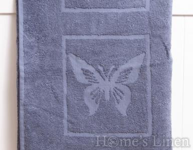 """Детска хавлиена кърпа 100% памук """"Тъмно синя пеперуда"""""""