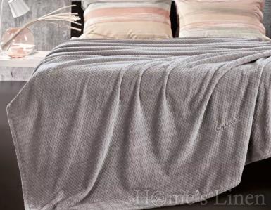 """Меко одеяло микрофибър """"Rombus"""" - различни цветове"""