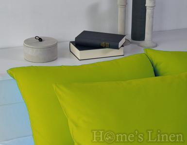 Комплект 2бр. калъфки за възглавници 100% памук лайм