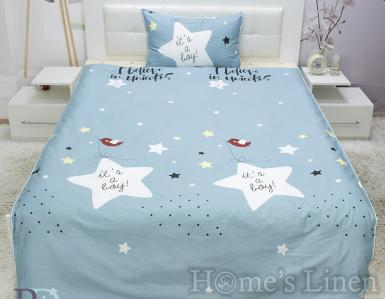 "Детско спално бельо 100% памук ""Звезди"""