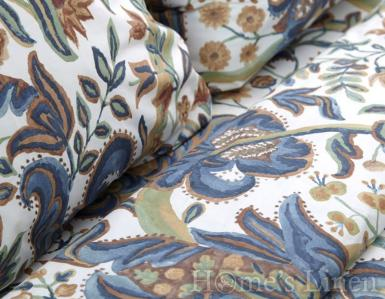 """Комплект 2бр. калъфки за възглавници 100% памук перкал """"Цветна градина"""""""