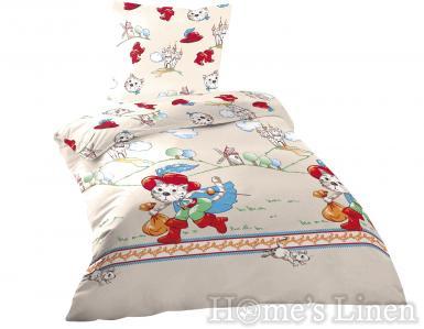 """Детско спално бельо 100% памук ранфорс """"Томи"""""""