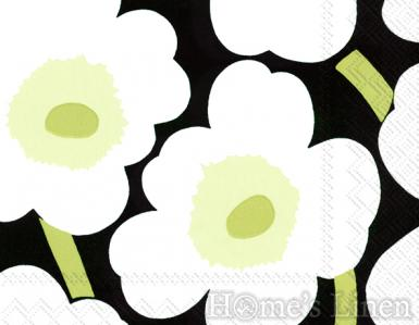 "Дизайнерски салфетки 20бр ""Unikko"", IHR - различни цветове"
