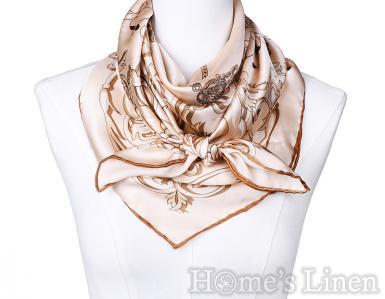 """Луксозен шал от естествена коприна """"Avem Satis"""", EM&EVE"""