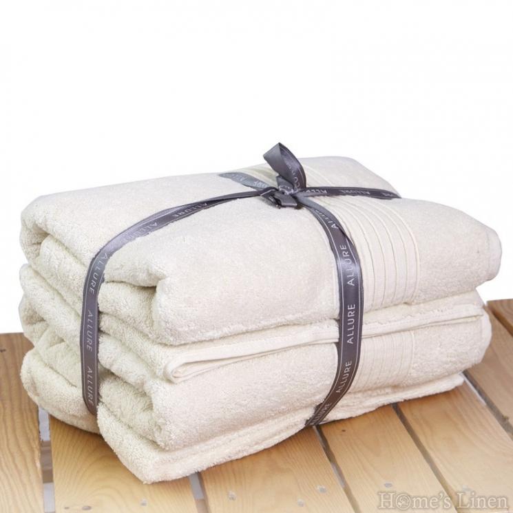 Комплект от 6 бр. луксозни хавлиени кърпи 100% памук 600 гр.