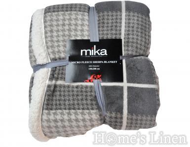"Одеяло ""Micro Fleece Sherpa"", MIKA"