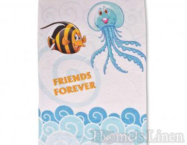 """Детска хавлиена кърпа DF печат """"Морско приключение"""""""