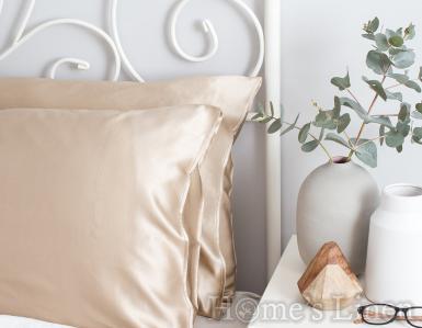 """Калъфка за възглавница от естествена коприна от копринени буби """"Royal Silk"""" Classic Style - различни цветове"""