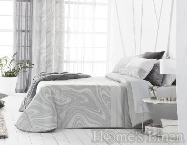 """Комплект луксозно шалте и декоративни калъфки жакард Antilo """"Odea"""""""