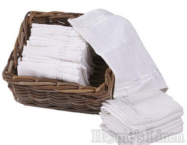 Промо пакет 10 бр. хавлиени кърпи 100% памук 30х30 см.