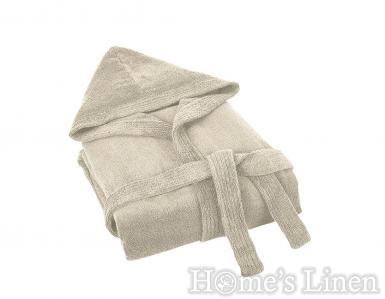 Халат за баня с качулка 100% памук и бамбук