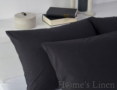 Комплект 2бр. калъфки за възглавници 100% памук черно