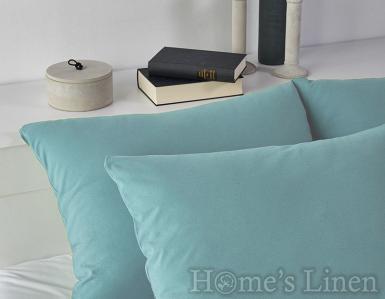 Комплект 2бр. калъфки за възглавници 100% памук светло синьо