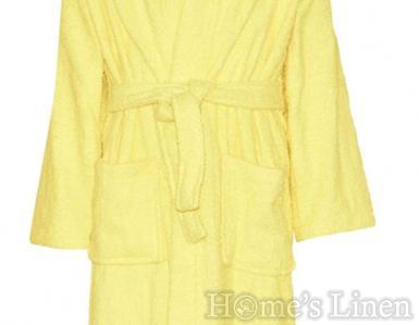 """Детски халат за баня с качулка 100% памук """"Стандарт дюс"""" 6-8г."""