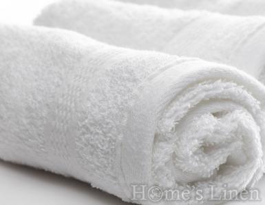 Хотелски хавлиени кърпи 100% памук бяло 400 гр/м2