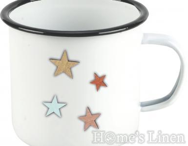 """Емайлирана метална чаша с празнични мотиви """"Hedda"""" , IHR"""