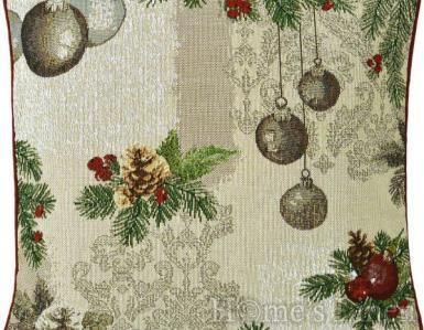"""Коледна декоративна възглавница """"X-mas bauble"""" Sander"""