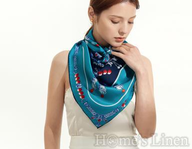 """Луксозен шал от естествена коприна """"Clavis"""", EM&EVE"""