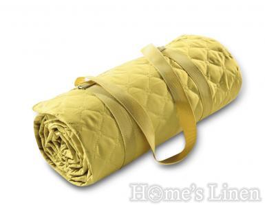 "Одеяло за пикник Biederlack ""Picnic Senf"""