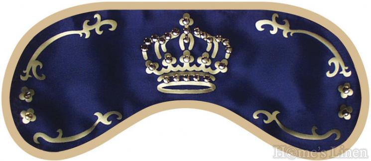 Маска за сън с камъни Swarovski DayDream® Crown Blue
