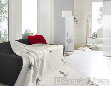 """Луксозно одеяло с планински мотиви памук бленд """"Freestyle"""", Alpine Collection"""