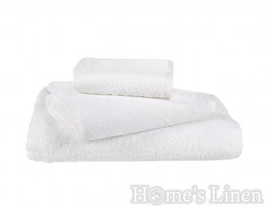 Хотелски хавлиени кърпи Hotel Lux 100% памук бяло 500 гр/м2