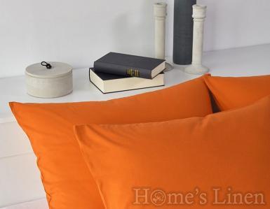 Комплект 2бр. калъфки за възглавници 100% памук оранжево