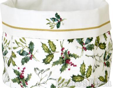 """Празнична кошничка за хляб от текстил """"Esther"""", IHR"""