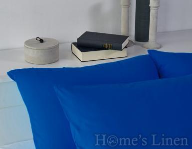 Комплект 2бр. калъфки за възглавници 100% памук тъмно синьо