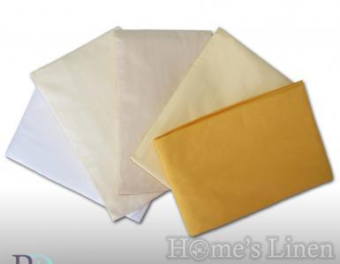 Долен чаршаф с ластик 100% памук - различни пастелни цветове