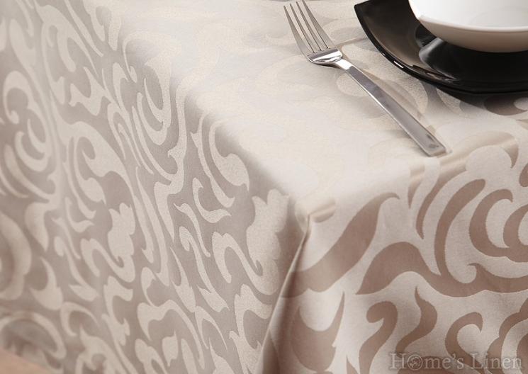 Луксозна покривка за маса от испански плат жакард - 3 цвята