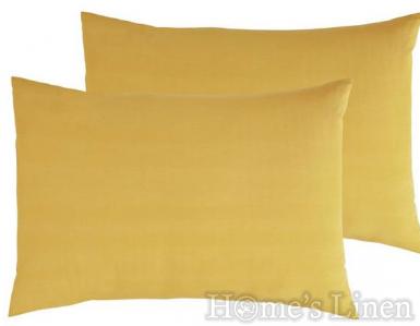 Комплект 2бр. калъфки за възглавница памучен сатен, 100% памук, Classic Collection