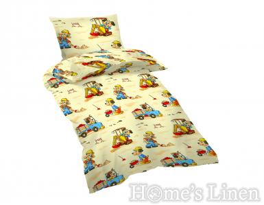 "Copy of Children's Bed Linen Set 100% Cotton Ranforce ""Little Bears"""