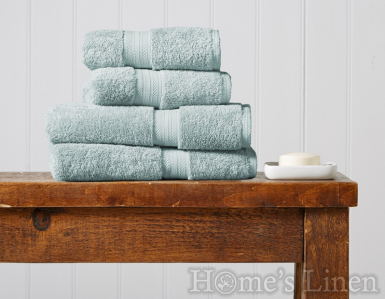 """Луксозна кърпа за баня 100% египетски памук """"Renaissance"""" EggShell Blue Christy"""