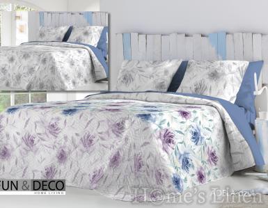 """Комплект шалте и декоративни калъфки Fun&Deco """"Adela"""" - в два цвята"""