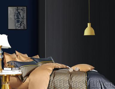 """Луксозен спален комплект памучен сатен, 100% памук 300 нишки """"Аметист"""", Premium Collection"""