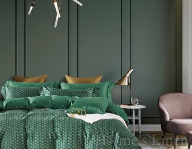 """Луксозен спален комплект памучен сатен, 100% памук 300 нишки """"Аврора"""", Premium Collection"""