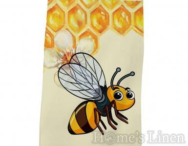 """Детска хавлиена кърпа DF печат """"Пчела"""""""