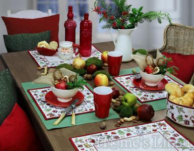 """Коледна подложка за хранене """"X-mas Ornaments"""" Sander"""