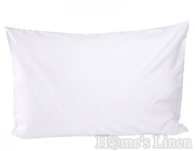 """Комплект от 2 бр. калъфки за възглавница 100% памук перкал """"Бяло"""""""