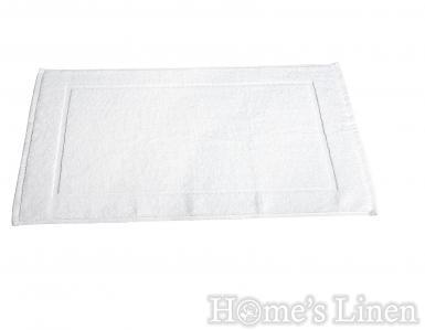 """Хотелско килимче за баня 100% памук """"Бяло"""" 720гр."""
