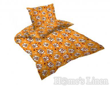"Детско спално бельо 100% памук ранфорс ""Жирафи 2"""